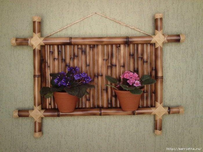 Поделки из бамбука своим руками