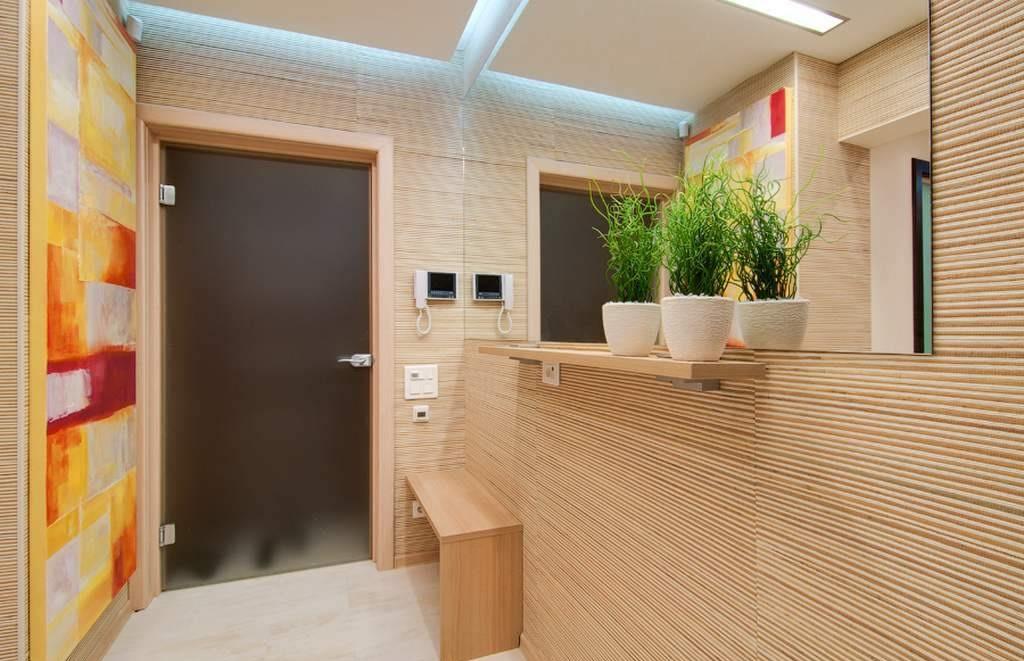 Бамбуковые панели для стен фото в интерьере