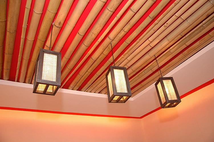 Как оригинально сделать потолок